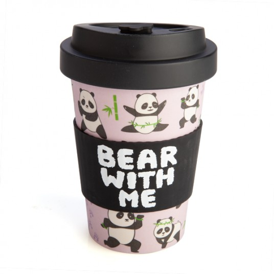 Panda Travel Mug - Bamboo Keep Cup