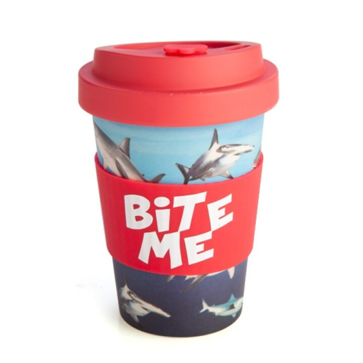 Shark Travel Mug - Bite Me - Eco Keep Cup