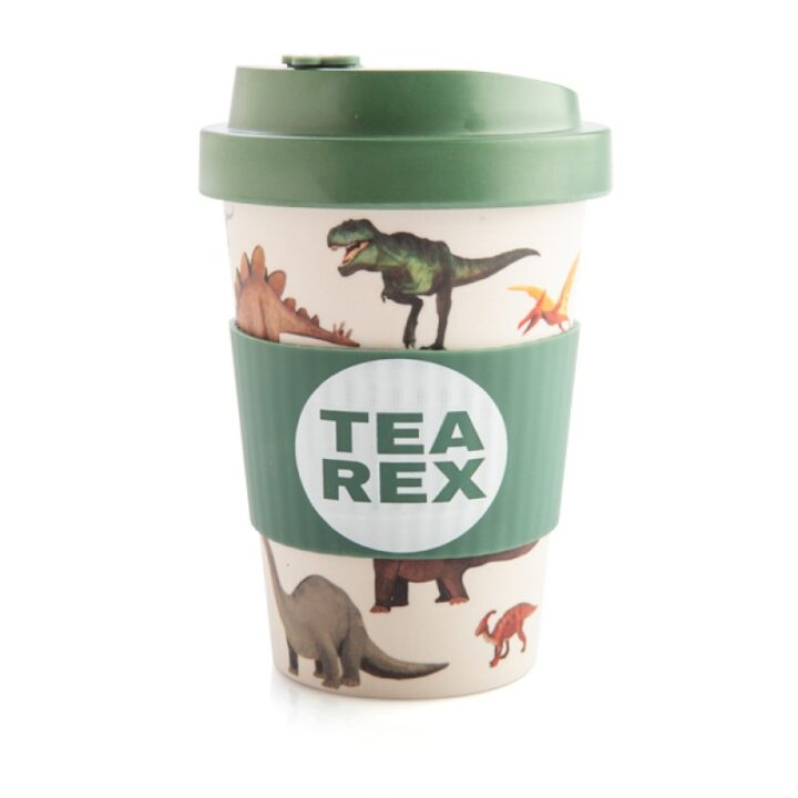 Tea Rex Keep Cup - Dinosaur Travel Mug