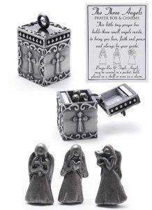 Three Angels Prayer Box - Keepsake