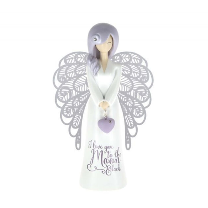 Angel Figure - I Love You To The Moon And Back