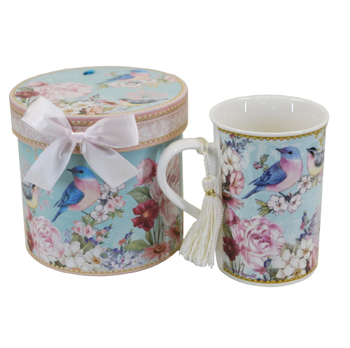 Blue Bird Mug with Gift Box
