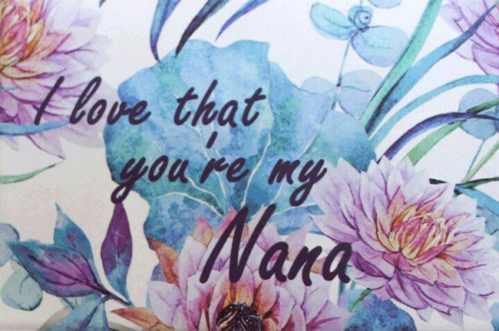 Nana Boxed soap