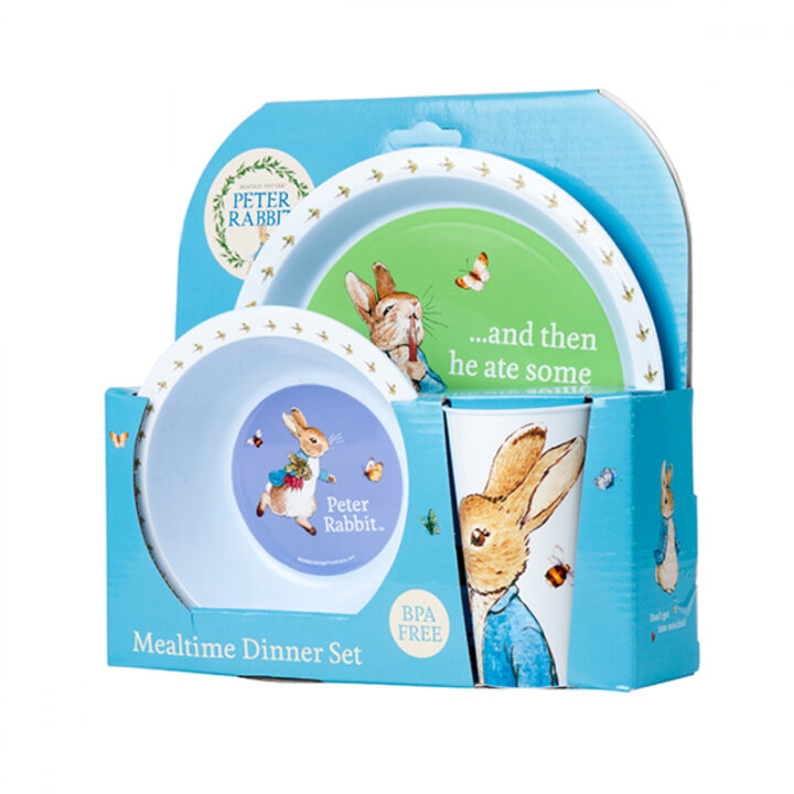 Peter Rabbit Melamine Set - 3 Pieces