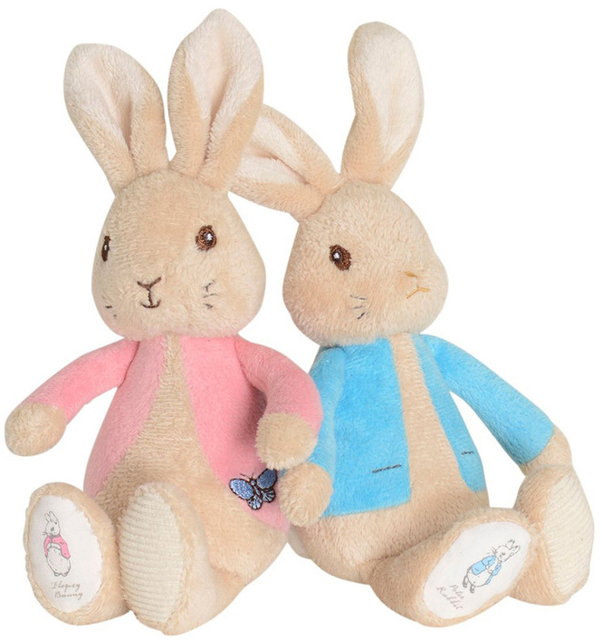 Peter Rabbit Plush Rattle-Easter Gift