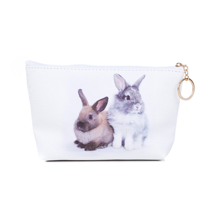 Rabbit Pencil Bag - Cosmetic Case