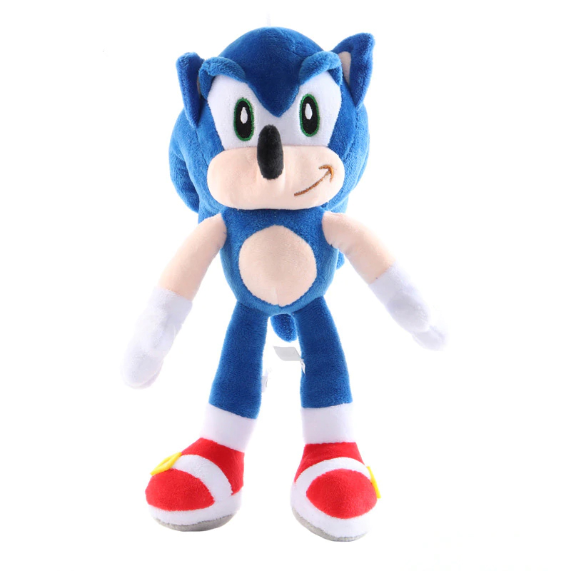 Sonic Plush Toy Sonic The Hedgehog Blue Gilberts Tree