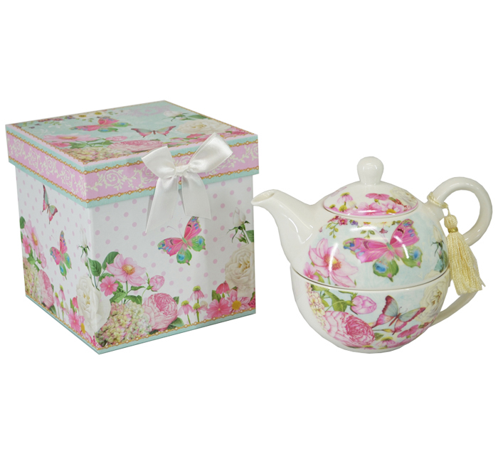 Teapot - Butterfly Tea For One Set