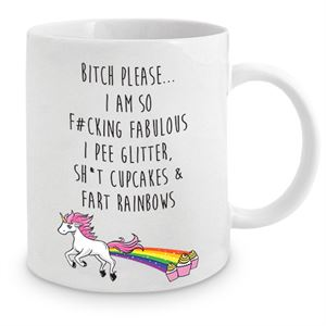 Adult Unicorn Mug