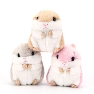 guinea pig keychains plush