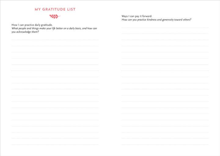Interactive Gratitude Journal