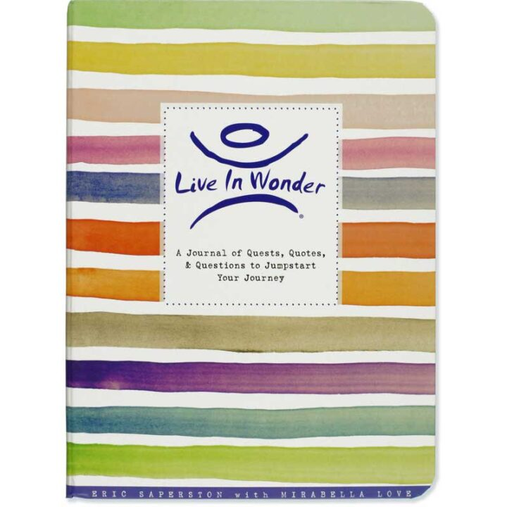 Live in Wonder - Interactive Journal