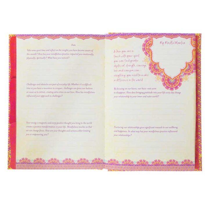 mindfulness interactive journal