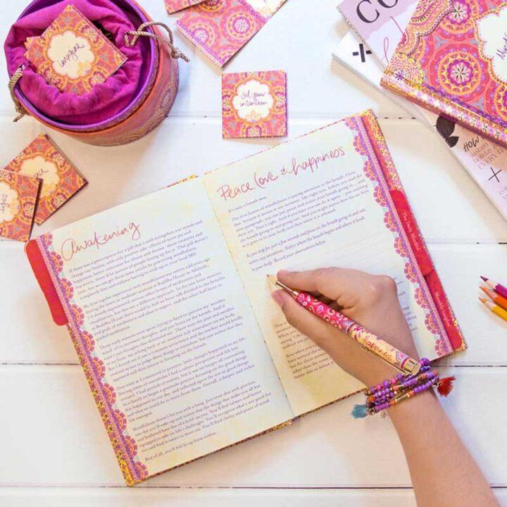 mindfulness journal interactive