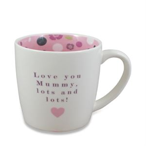 Love You Mummy Lots And Lots Mug