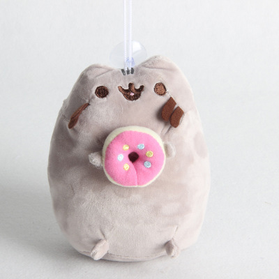 Pusheen Cat Donut Plush Toy