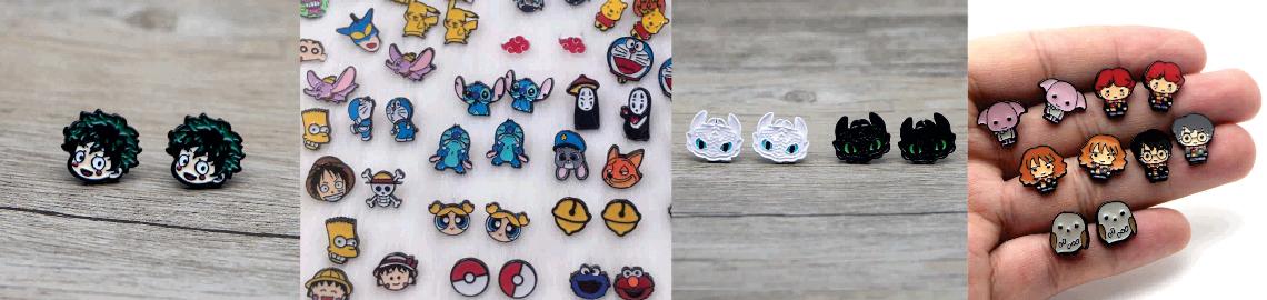Superhero Earrings