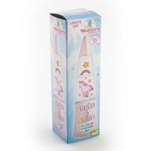 Unicorn Shake Light - Glitter Lamp