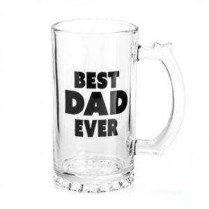 Dad Beer Glass - Stein Mug - Best Dad Ever