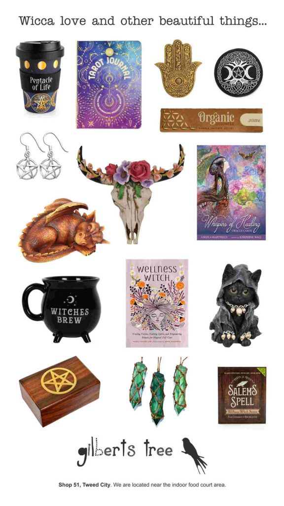 wicca, tarot, new age products