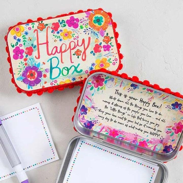 Happy Box - Tin - Natural Life