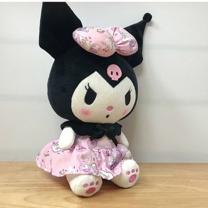 Kuromi Plush - Sanrio Plushie - Kawaii - Pink