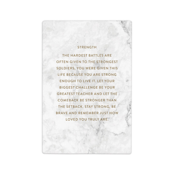 Strength Quote Gift